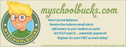 Click to find out your School Bucks balance and reload